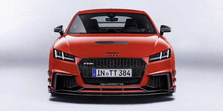 Descubre el poderoso Audi TT Clubsport Turbo Concept