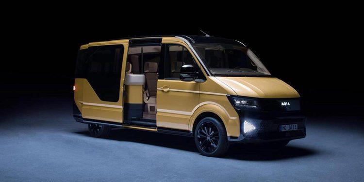El nuevo minibús eléctrico de Volkswagen se llama MOIA