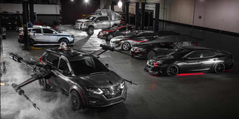 Nissan presentó modelos alegóricos a Star Wars