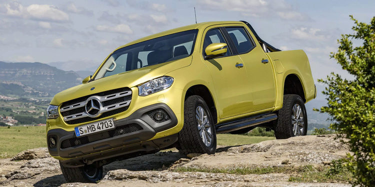 Te presentamos la nueva pick-up Mercedes-Benz X-CLASS 2018