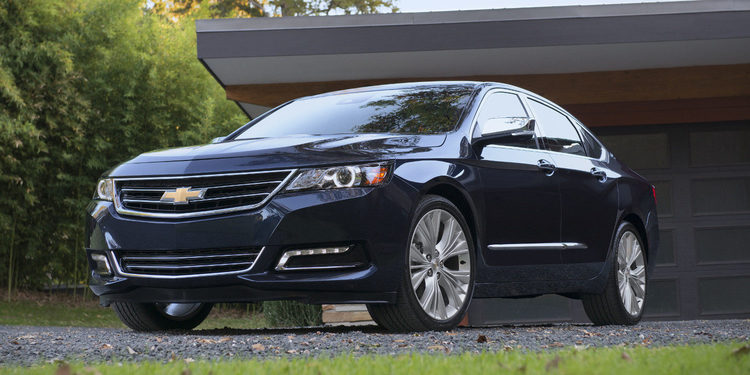 Nuevo Chevrolet Impala, el sedan más lujoso