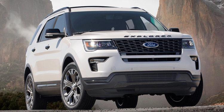 La Nueva Ford Explorer 2018 nos llega con pocos cambios exteriores