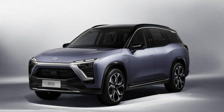 La compañía Nio presenta su SUV ES8