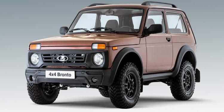 Bronto 4x4, la versión más extrema del Lada Niva
