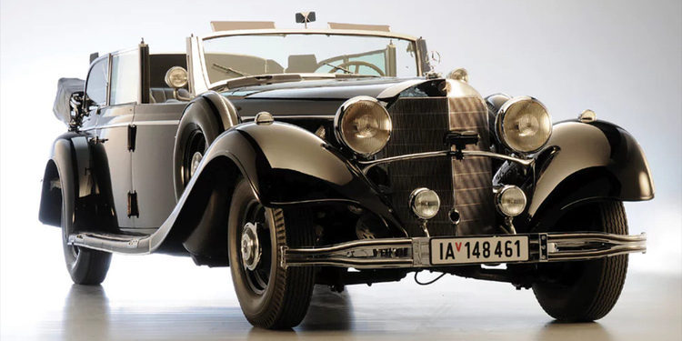 El Mercedes-Benz de Adolf Hitler