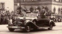 El Mercedes-Benz de Adolf Hitler