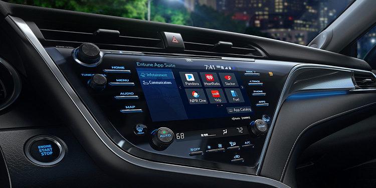 Entune, el sistema de navegación estrella de la Toyota