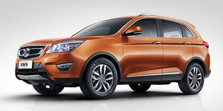La marca china Baic lanzó al mercado el nuevo X65 2018