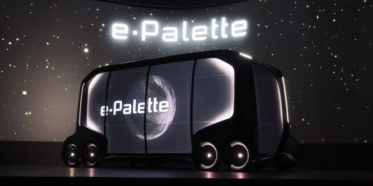Toyota presenta su concepto de movilidad autonoma con el E-Palette