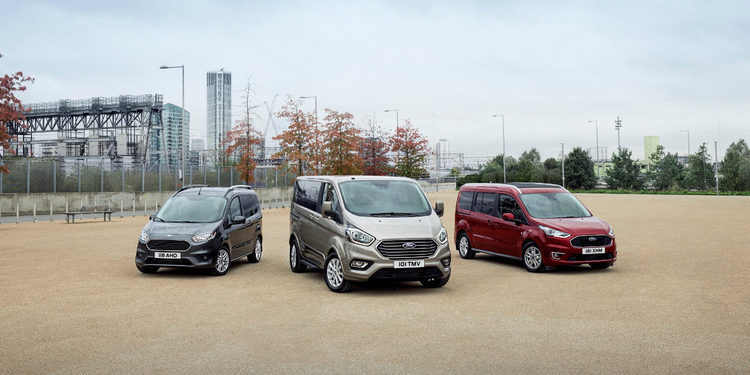 Ford enseñará en Bruselas la nueva gama Tourneo al completo