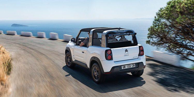 Citroën presenta un rediseñado E-MEHARI