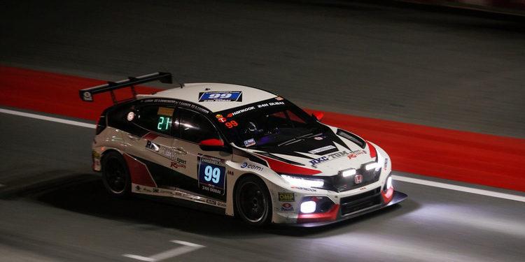 Debut con mal sabor de boca para el Honda Civic Type R TCR FK7 en Dubái