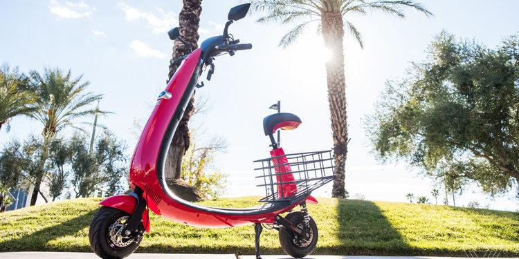 Te presentamos la nueva scooter eléctrica Ford OjO