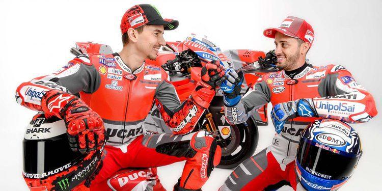 Presentación del Ducati Team