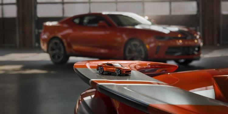 Se presentó el Camaro Hot Wheels edición especial