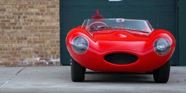 Será subastado un impresionante Jaguar D-Type 1954