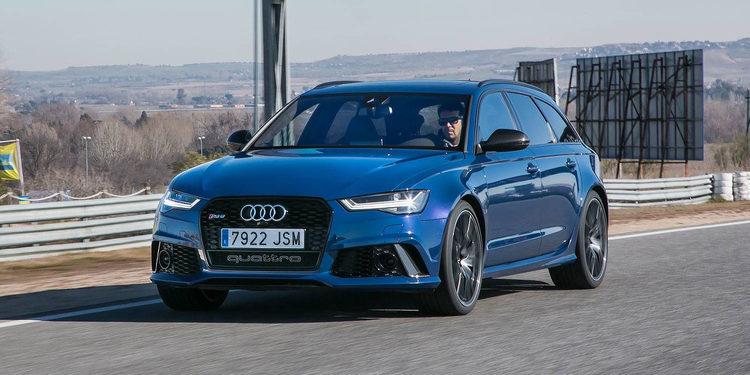 Audi RS6 Avant 2018, un coche de alta gama que vuela en la carretera
