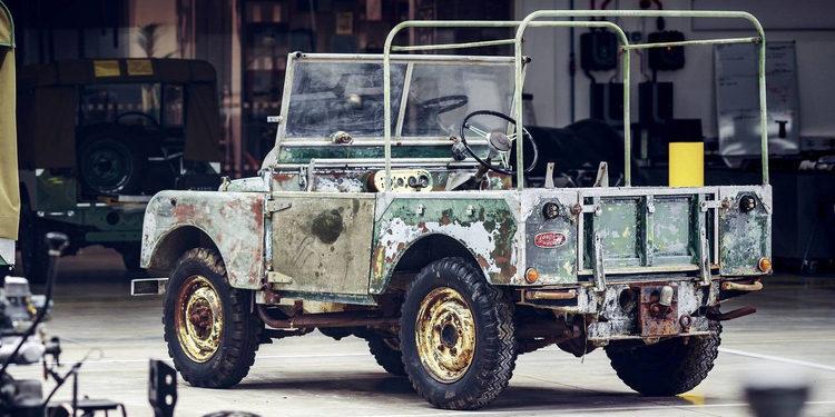 Se rescata un Land Rover Series 1