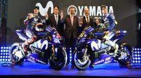 El Movistar Yamaha MotoGP presenta la YZR-M1 de 2018