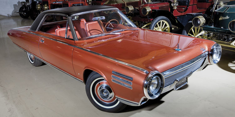 Chrysler Turbine Car 1964, un coche de la antigua era espacial