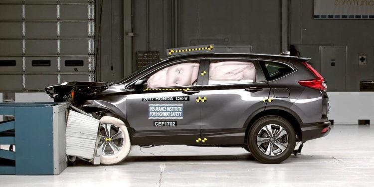 Honda ofrece uno de los mejores sistemas de seguridad del mundo
