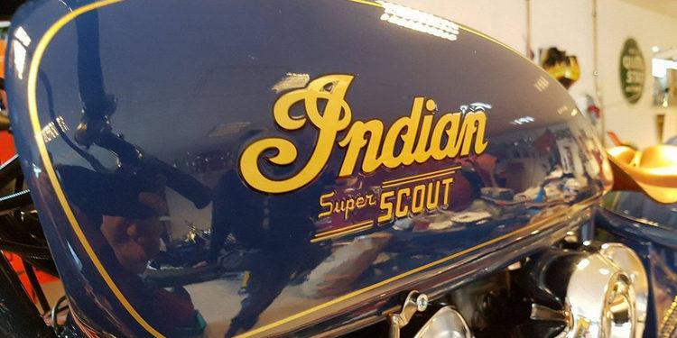 La espectacular Indian Super Scout de Fullhouse