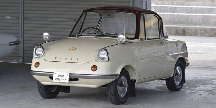 El pequeño Mazda R360, el génesis de la marca japonesa
