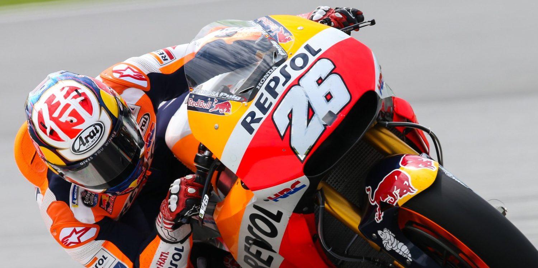 Dani domina perseguido por las Ducati