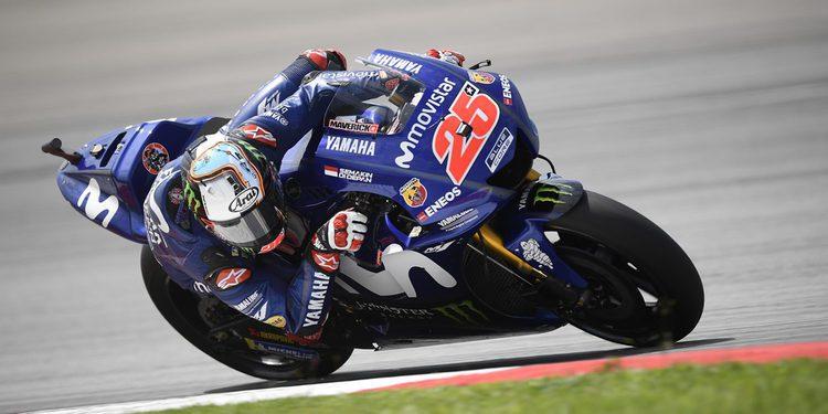 Yamaha domina la segunda jornada en Sepang