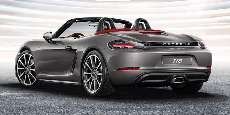 Porsche prepara un 718 spyder con motor 4 litros aspirado