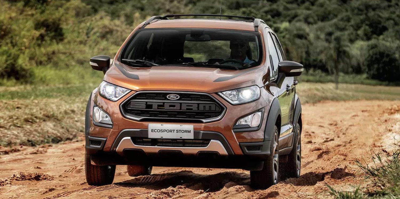 Ford Presento La Ecosport Storm Version Brasil Motor Y Racing