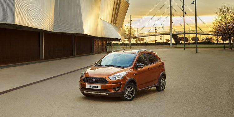 Ford enseña el nuevo KA+ Active, con alma de SUV