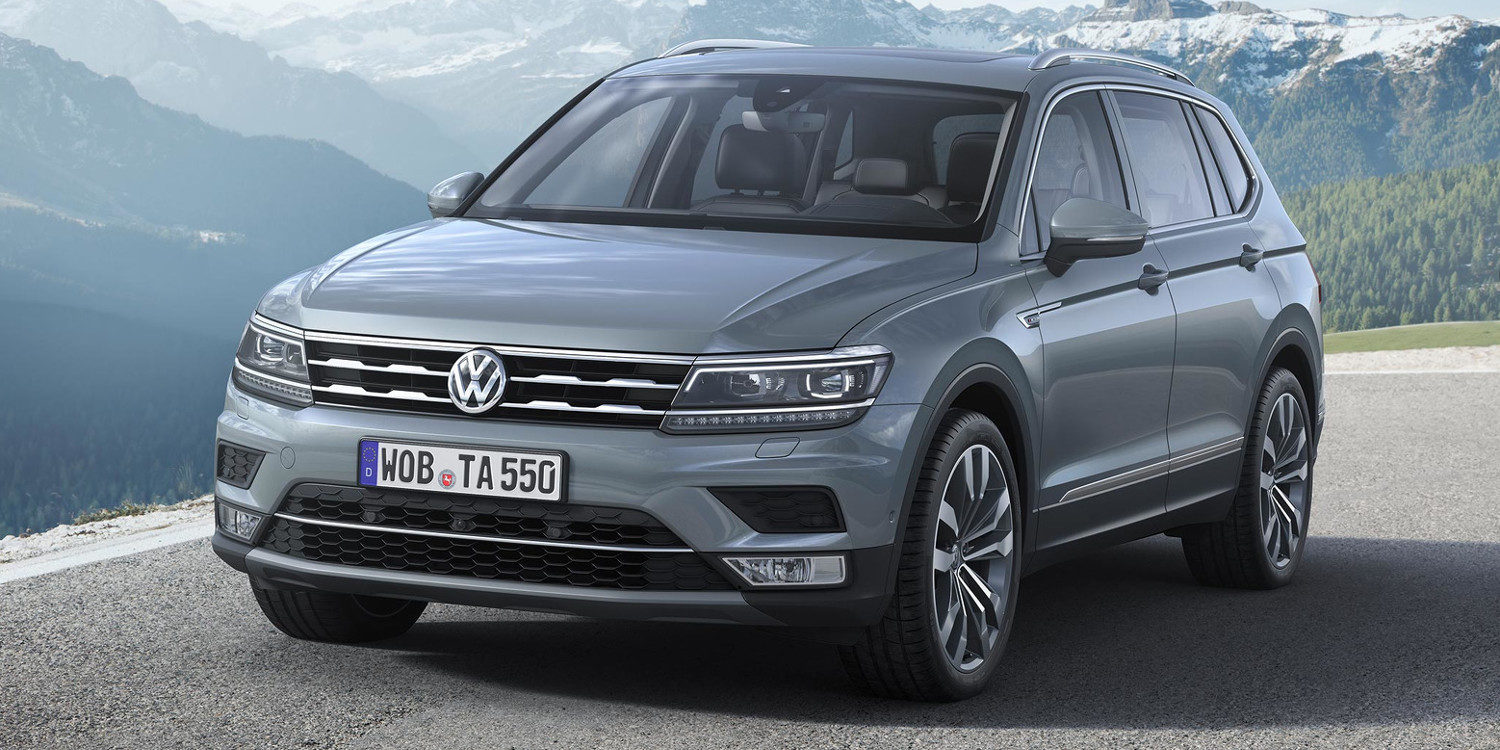 volkswagen hace gala del tiguan allspace r line 2018 motor y racing. Black Bedroom Furniture Sets. Home Design Ideas