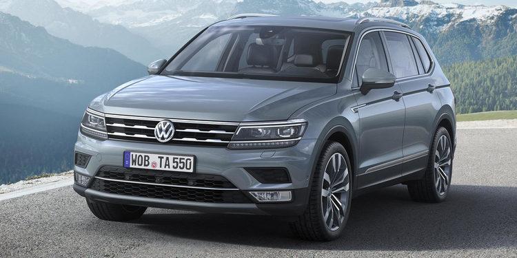 Volkswagen hace gala del Tiguan Allspace R-Line 2018