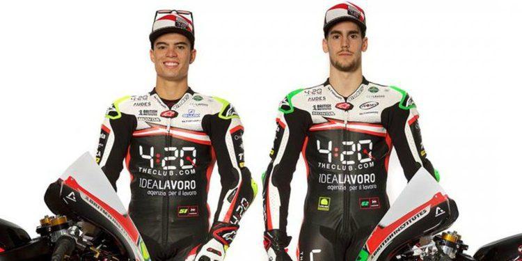 El Forward Racing Team presenta con optimismo a su renovado equipo