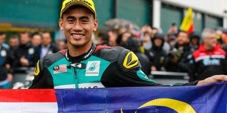 Syahrin estará en Tailandia con el Tech3 y se da por hecho que firme para disputar la nueva temporada