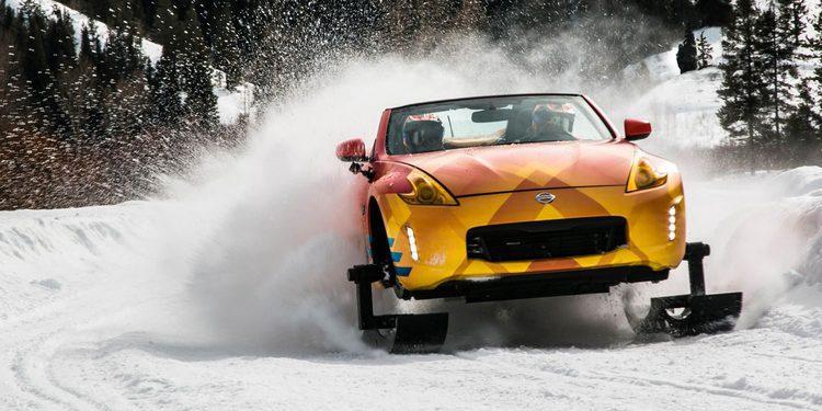 370Zki el nuevo coche invernal de Nissan