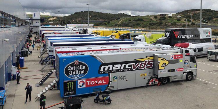 Jorge Martin y 'Pecco' Bagnaia dominan el primer día en Jerez