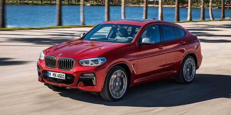 El BMW X4 2019 para Ginebra