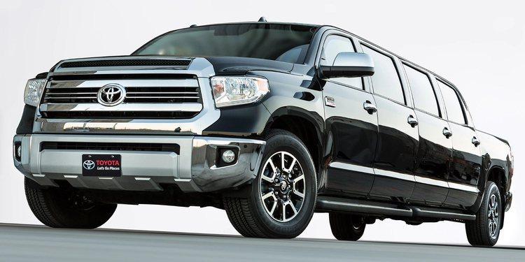 Limusina Toyota Tundrasine, la elegancia tras la convencional pick-up