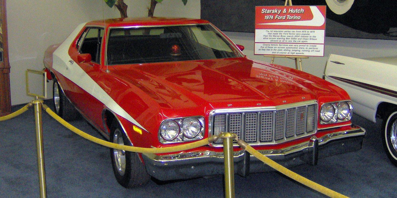 Ford Gran Torino 1975, el auto de la serie televisiva Starsky y Hutch