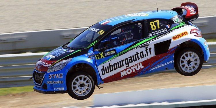 G FORS ficha a Jean Baptiste Dubourg para el Europeo de Rallycross