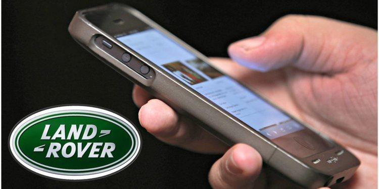 Land Rover presentó su linea de teléfonos móviles
