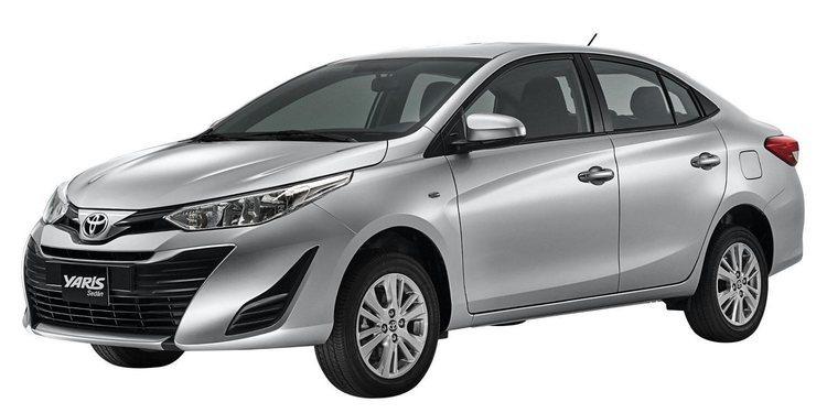Toyota Yaris tipo Sedan 2018, su descripción y proyección