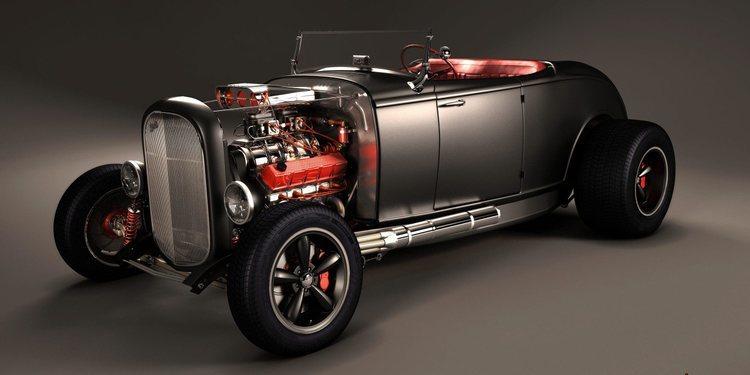La Historia de los Auto Hot Rod