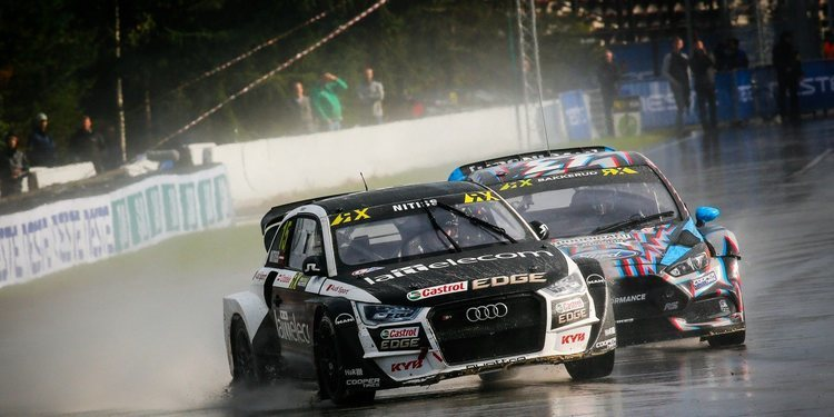 Reinis Nitiss competirá en el Europeo de Rallycross