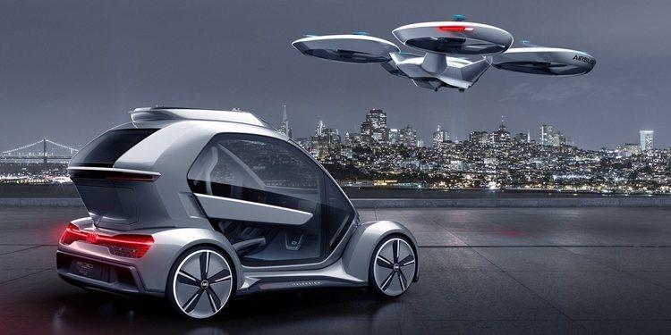 El nuevo Coche-Dron de Audi llega para sorprender al mundo