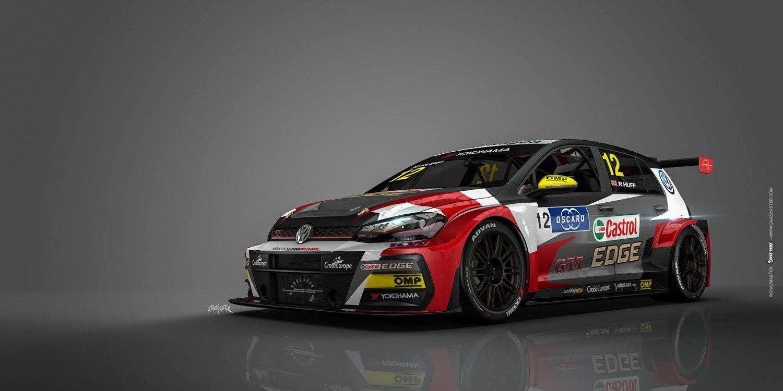Sébastien Loeb Racing muestra el Volkswagen Golf GTI TCR de Huff y Bennani