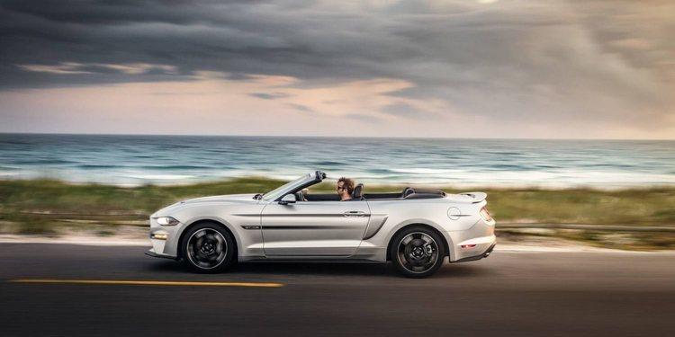Un tributo al pasado con el nuevo Ford Mustang California