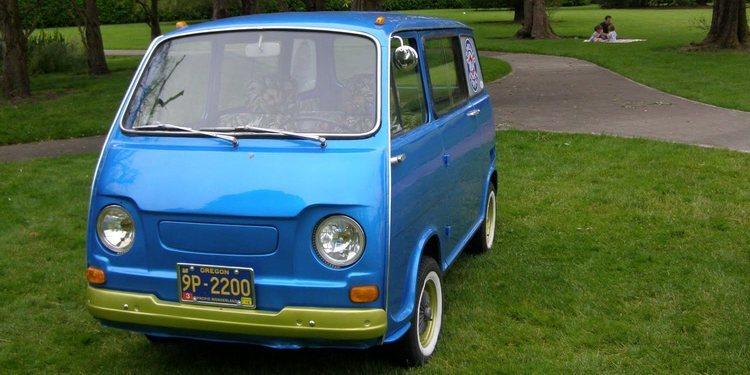 Conoce la Subaru Sambar 1961, todo un clásico japonés